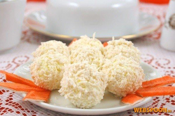 Сырные шарики рафаэлло рецепт пошагово в домашних условиях