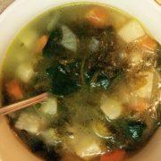 Суп из кореньев