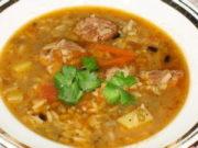 Машхурда (Суп с машем)