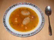 Шурпа-чабан (Суп с картофелем и помидорами)