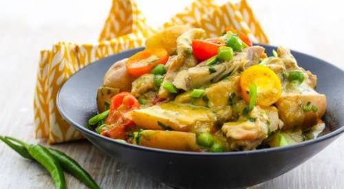 Карри с курицей по-тайски, пошаговый рецепт с фото