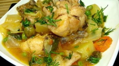 Нежнейшая курочка с овощами «Пальчики оближешь», пошаговый рецепт с фото